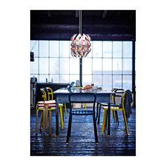 IKEA PS 2014 Pendant lamp, white, orange white/orange - (hard wired)