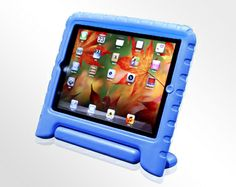 Eva Case- soft, foam based case for iPad or iPad mini; built-in stand included