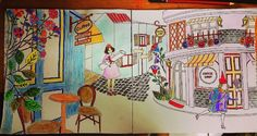Lovely  Amily #amilyscolorfulwonderland #secretgarden #sketch #drawing #colorful #coffee #challenging #art