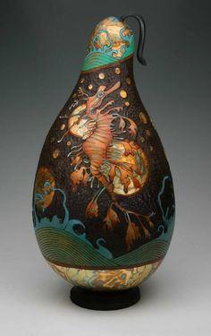 Golden Sea Dragon by Carla Bratt.