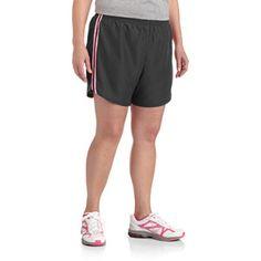 Danskin Now Women's Plus-Size Running Short with Liner