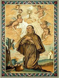 ¡Ohglorioso y benditos an Pascual Bailón! que confavores celestiales enriqueces a los hombres y con paz y consuelo llenas sus c...