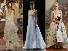 The Top Wedding Dress Trends From Spring 2016 Bridal Fashion Week  | TheKnot.com