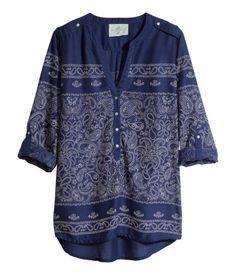 Product Detail | H&M CL - Blusa estampada