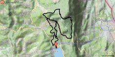 [Savoie] VTT-FFCT du pays du lac d'Aiguebelette - Parcours N°6 : Château Richard Circuit VTT balisé n°6.  Du rond-point, longer la départementale direction Novalaise sur 200 m. 50 m après le pont sur la Leysse, prendre le sentier à droite vers le nord (dos au lac). Vous suivez l'itinéraire du circuit n°4 jusqu'aux « Guillets » puis rejoignez la route du col de l'Epine. Peu avant le sommet du col, vous empruntez une route forestière menant au parking de la Combe d'Armée. Au parking, prendre…
