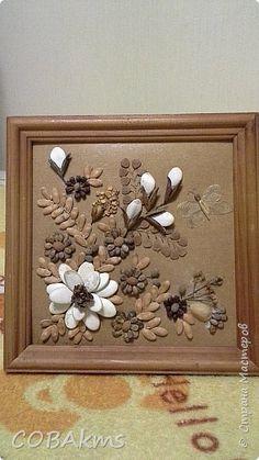 Картина из семян фото 2 Pine Cone Art, Pine Cone Crafts, Seashell Crafts, Flower Crafts, Twine Crafts, Diy Crafts, Painted Pinecones, String Art Tutorials, Easy Easter Crafts
