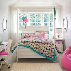 Curtain for Teenage Girl Rooms | Little Girls Bedroom: cool teenage girl rooms