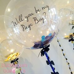 Such a great to ask your page boy to be part of your wedding.  #pageboy