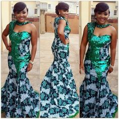 African Dresses Ankara Gown - DeZango Fashion Zone