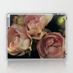 Roses Laptop & iPad Skin by ARTbyJWP #padskin #padcover #ipadskin #roses #floral ---   Skins are thin, easy-to-remove, vinyl decals for customizing your laptop . Skins are made from a patented material that eliminates air bubbles and wrinkles for easy application.