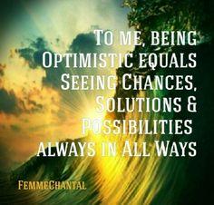 #FemmeChantal #Quote #Optimist
