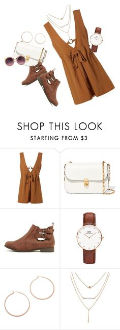 """Untitled #169"" by alexandrabianca-1 on Polyvore featuring Valentino, Daniel Wellington, Jennifer Zeuner and Erdem"