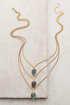 Triolet Layered Necklace