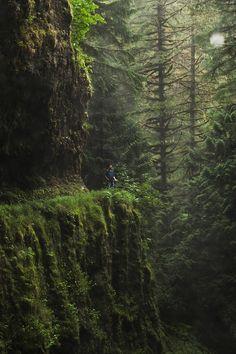 Eagle Creek Trail, Oregon// by Chris Ebarb