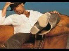 Chris Cagle - look at what I've done to her. I look forward to this day. I am getting strong but its not because of him. It am doing that for myself.