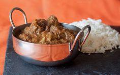 Beef Vindaloo & Coconut Rice
