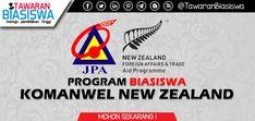 Permohonan Biasiswa Komanwel New Zealand 2020 New Zealand, Tech Companies, Company Logo, Logos, News, Logo