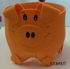 Porta-treco Porco