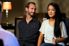 A beautiful love story about Nick Vujicic and his wife Kanae Miyahara.  Nick was born with no arms and no legs, and he never thought he would find his soul mate who wants to share the rest life with him. https://www.pinterest.com/Yeshuaschild/