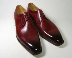 #Zapatos Marc Guyot's  Burgundy #Shoes