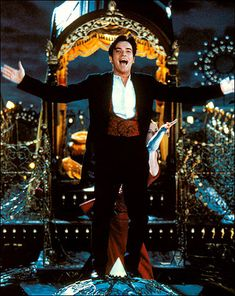 Love, love love this man! Christian (Ewan McGregor) singing on top of the elephant in Moulin Rouge! One of my favorite songs and scenes from the movie Film Moulin Rouge, Le Moulin Rouge Paris, Moulin Rouge Costumes, High School Musical, Nicole Kidman, Movies Showing, Movies And Tv Shows, Dramas, Baz Luhrmann