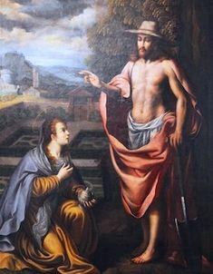 Angelo Nardi. Convento de las Bernardas. Alcala de Henares. 1619 Noli Me Tangere, Painting, Art, Art Background, Painting Art, Kunst, Paintings, Performing Arts, Painted Canvas