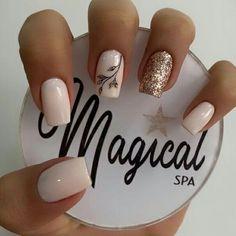 Polygel Nails, Nail Manicure, Cute Nails, Pretty Nails, French Nail Designs, Short Nail Designs, Nail Art Designs, Summer Acrylic Nails, Best Acrylic Nails