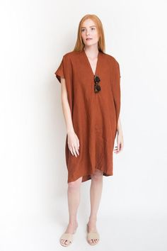 Miranda Bennett Everyday Dress / Marfa Linen