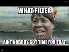 What filter - http://www.hvac-hacks.com/what-filter/