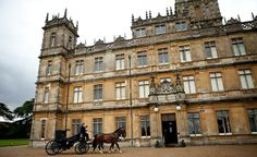 Highclere Castle from Downton Abbey.  Going to go see this someday....