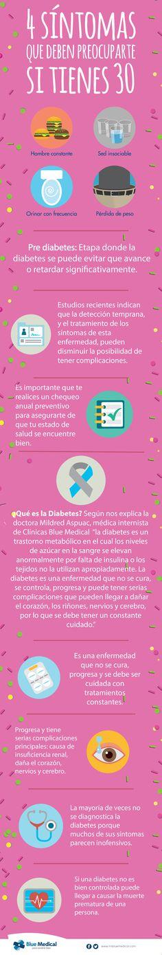 4 síntomas que deben preocuparte si tienes 30 años! #Diabetes #EnfermedadesCrónicas