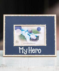 Loving this 'My Hero' Photo Frame on #zulily! #zulilyfinds