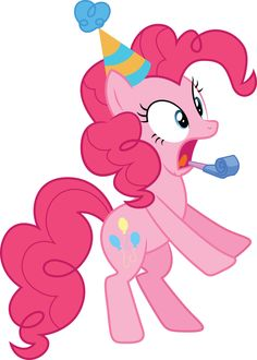 Pinkie Pie no party.