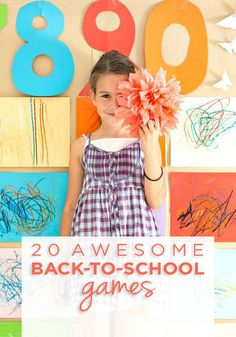 If you're looking for some activities to get your kids excited about the school year, or you're a teacher prepping for the first week of school, My Life and Kids has got you covered with these 20 Awesome Back-to-School Games!