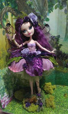 Custom Ever After High Fairy Ballerina Doll Poppy O& Monster High Clothes, Monster High Dolls, Ever After High, Ballerina Doll, Monster High Custom, Fairy Dolls, Handmade Flowers, Doll Toys, Baby Items