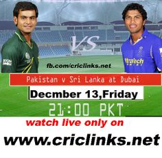 2nd T20 between pakistan vs Sri Lanka will be played Friday December,13th.pakistan two match seris by 1-0 and have chance to go top of T20 ranking table,other hand sri lankawill try to fight back hard .match will be start 9.00 PM PST.9.30 IST.Watc live action only on http://www.criclinks.net