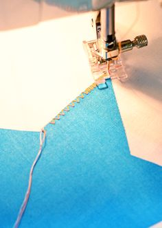 Tutorial: Basic Machine Applique Using Fuseable Webbing | The {studio} blog by April Rosenthal
