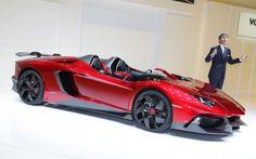 The 1 of a kind 3 million dollar Lamborghini Aventador J