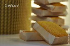 Tradicionales sobaos pasiegos Spanish Desserts, Spanish Food, Pan Dulce, Bread Machine Recipes, My Recipes, Catering, Breakfast Recipes, Bakery, Good Food
