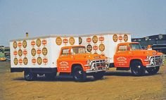 1957 GMC Schaefer Beer Trucks