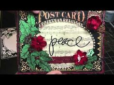 ▶ Christmas Card Project Add On Tutorial for Swirlydoos Kit Club - YouTube