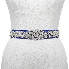 EUR 19,99 + EUR 2,99 für Lieferungen Remedios Kristall Strass und Perle Hochzeit Schärpe Brautgürtel für Frauen Kleider,Königsblau Remedios http://www.amazon.de/dp/B01ABSVXQU/ref=cm_sw_r_pi_dp_6GiSwb1K6WG39