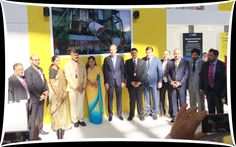L TO R : Mr Rakesh Shah, Former Chairman and PED Chairman, EEPC India ; Mr Ravi Sehgal, Sr Vice Chairman, EEPC India; Ms Nirmala Sitharaman, Minister of State (I/C), Commerce and Industry, Government of India; Mr N Chandrababu Naidu, Andhra Pradesh Chief Minister; Ms Vasundhara Raje ,Rajasthan Chief Minister ;Mr Denis Manturov, Trade and Industry Minister of Russia; Mr Devendra Fadnavis,Maharashtra Chief Minister ; Mr Evgeny Kuivashev, Governor of Sverdlovsk Region ; Mr Ravi Capoor, Joint…