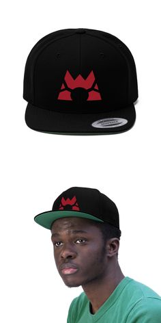 9bcb58d7fd5bdc Team Magma symbol hat inspired by Pokemon Ruby and Sapphire from the Pokemon  series! #
