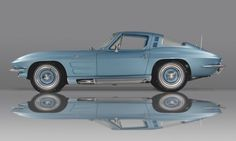 Custom '64 Corvette. Went to a high school prom in one almost identical to this one (and yes, it was a vintage car then too)