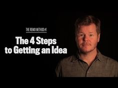 The 4 Steps to Getting an Idea (The Remix Method #1) - YouTube