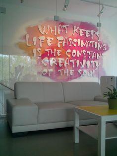 Kreatívna tapeta  #tlač #polep #3D #logo #nálepka #stena