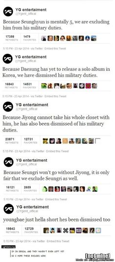 I really hope these work!! Except for Ji-Yong's...his is because he is just too awesome & we can't live without him