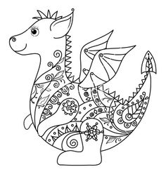 how to draw a chinese dragon dragoart