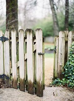 I once opened a gate like this and my life began....time to dream again...Cindy